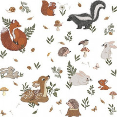 ANIMALS OF THE FOREST PILLOW