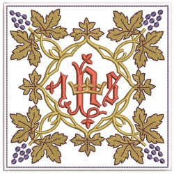EMBROIDERED ALTAR CLOTHS JHS 203