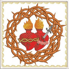 EMBROIDERED ALTAR CLOTHS SACRED AND IMMACULATE 215