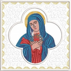 EMBROIDERED ALTAR CLOTHS OUR LADY OF PAIN 262