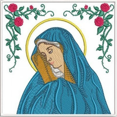 EMBROIDERED ALTAR CLOTHS OUR LADY OF PAIN 263