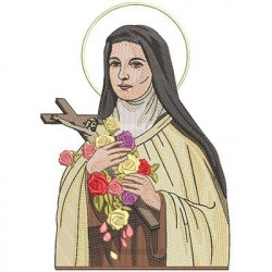 SAINT LITTLE THERESE OF LISSIEUX 28 CM
