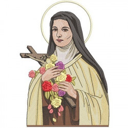 SAINT LITTLE THERESE OF LISSIEUX 34 CM