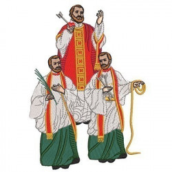 SAINTS MARTYRS OF MISSIONS