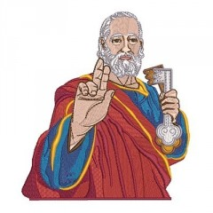 SAINT PETER 15 CM