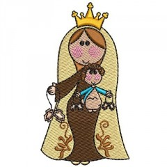 OUR LADY OF CARMO CUTE