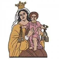 OUR LADY OF THE CARMON 11 CM