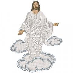 JESUS RESUSCITED 25 CM