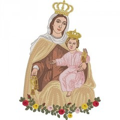 OUR LADY OF CARMO 30 CM