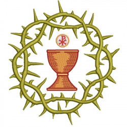 CROWN OF THORN WITH CHALICE