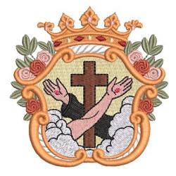ESCUDO ABRAZO FRANCISCANO 1