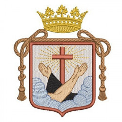 ESCUDO ABRAZO FRANCISCANO 3