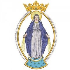 MEDAL OUR LADY OF GRACE 4