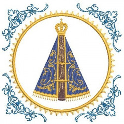 MEDAL OUR LADY OF APARECIDA