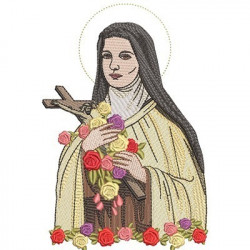 SAINT LITTLE THERESE OF LISSIEUX 18 CM