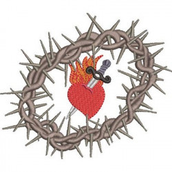 CROWN OF THORNS IMMACULATE HEART OF MARY