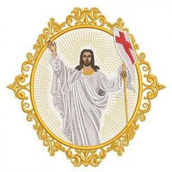 RESURRECTED JESUS MEDAL