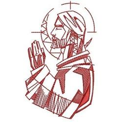 JESÚS EN ORACIÓN CONTORNO