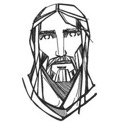 CARA DE JESÚS ESTILIZADA
