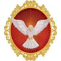 MEDAL DIVINE HOLY SPIRIT 2