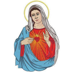 IMMACULATE HEART OF MARY 40 CM
