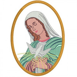VIRGIN MARY WIFE DIVINE HOLY SPIRIT