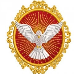 DIVINE MEDAL HOLY SPIRIT 3