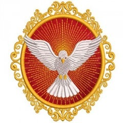 DIVINE MEDAL HOLY SPIRIT 4