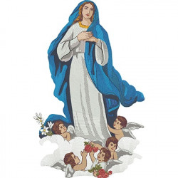 OUR IMMACULATE LADY CONCEPTION 48 CM