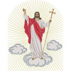 JESUS RESURRECTED 25 CM