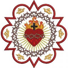 FRAME SACRED HEART OF JESUS
