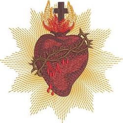 SACRED HEART OF JESUS 15 CM
