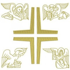 CROSS 4 EVANGELISTS WITH 15 CM