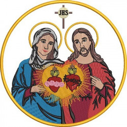 JESUS AND MARY SACRED AND IMMACULATE HEART