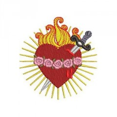IMMACULATE HEART OF MARY 7 CM