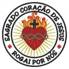 SACRED HEART OF JESUS PATCH