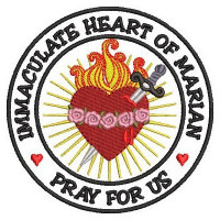 IMMACULATE HEART OF MARIAN PATCH