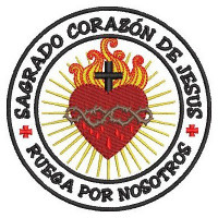 SACRED HEART OF JESUS ES PATCH
