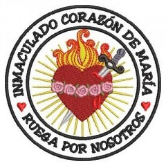 IMMACULATE HEART OF MARIAN PATCH ES