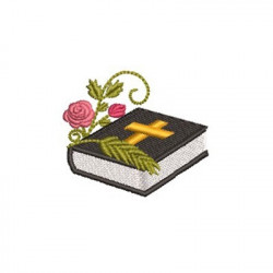 BIBLE WITH FLOWERS 2