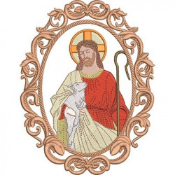MEDALHA JESUS BOM PASTOR
