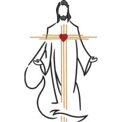 JESUS RESURRECTED STYLIZED