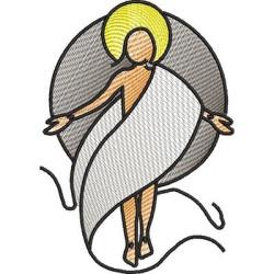 STYLIZED CHRIST RISEN 2