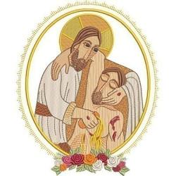 JESUS GOOD SAMARITAN MEDAL