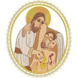 JESUS GOOD SAMARITAN MEDAL 2