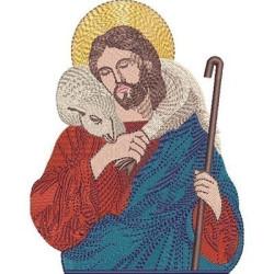 JESÚS BUEN PASTOR 14 CM