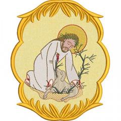 JESUS GOOD SAMARITANO IN THE APPLIED FRAME