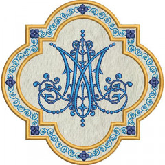 MARIAN SYMBOL IN THE APPLIED FRAME 2