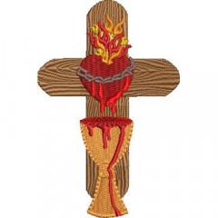 CROSS SACRED HEART OF JESUS 2