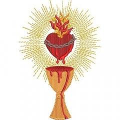 CHALICE SACRED HEART OF JESUS